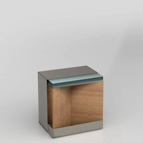 SWOOFLE Mietmöbel Europaweit Overnight - FlatCube grafik zusammengebaut querschnitt