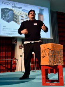 Георг Винкель - основатель и генеральный директор компании SWOOFLE GmbH - изобретатель FlatCube.