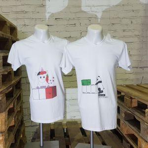 Pupsendes Einhorn und anti Rassismus Panda - Shirt - SWOOFLE Mietmöbel